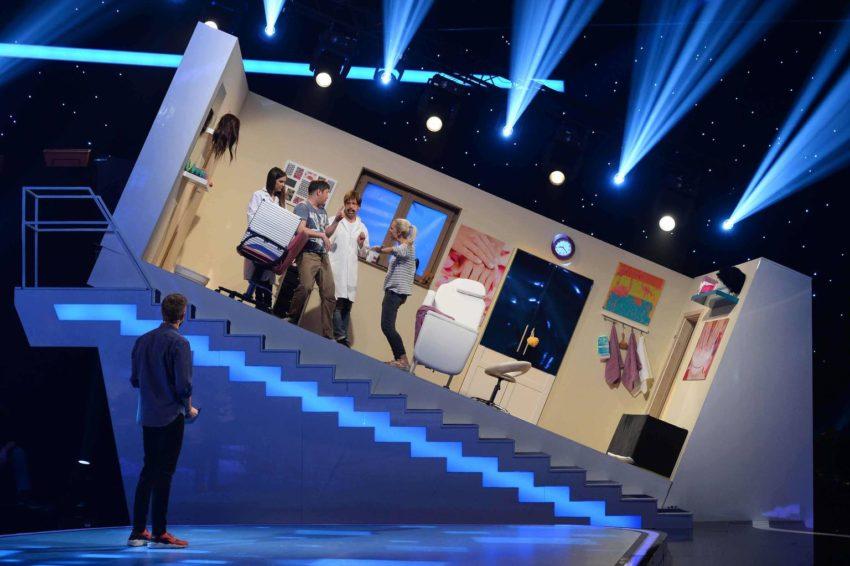 TV Impro-Show: Jetzt wird's schräg